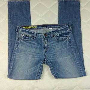 Jcrew Matchstick stretch women's Jeans Size 29R
